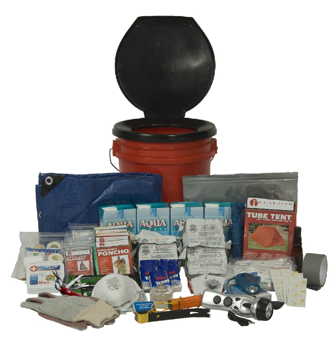 5-Person Guardian Deluxe Office Survival Kit
