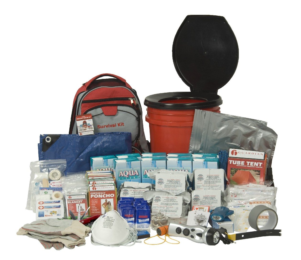 10 Person Guardian Deluxe Office Survival Kit