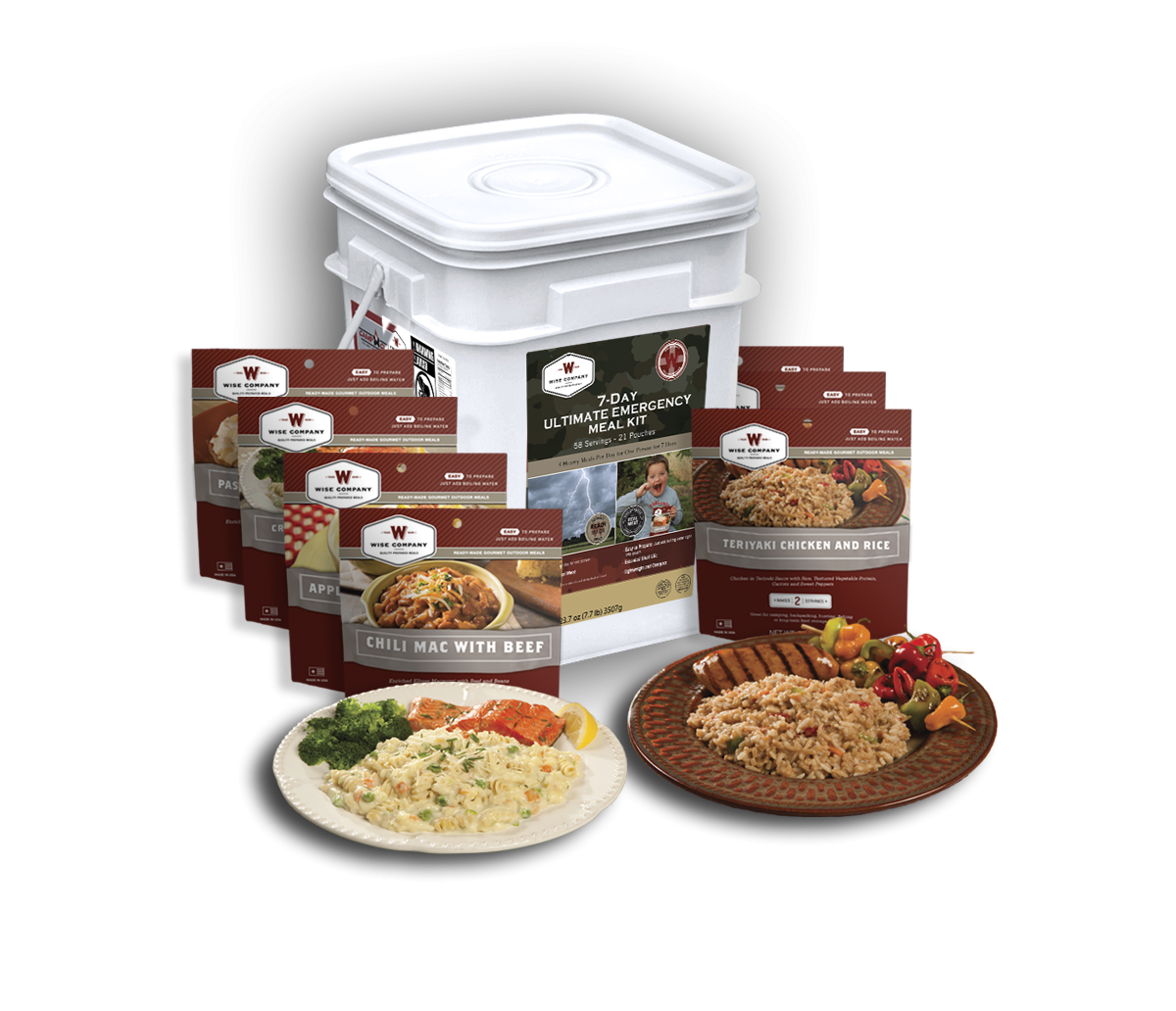 Premium 7-day Food Storage Kit